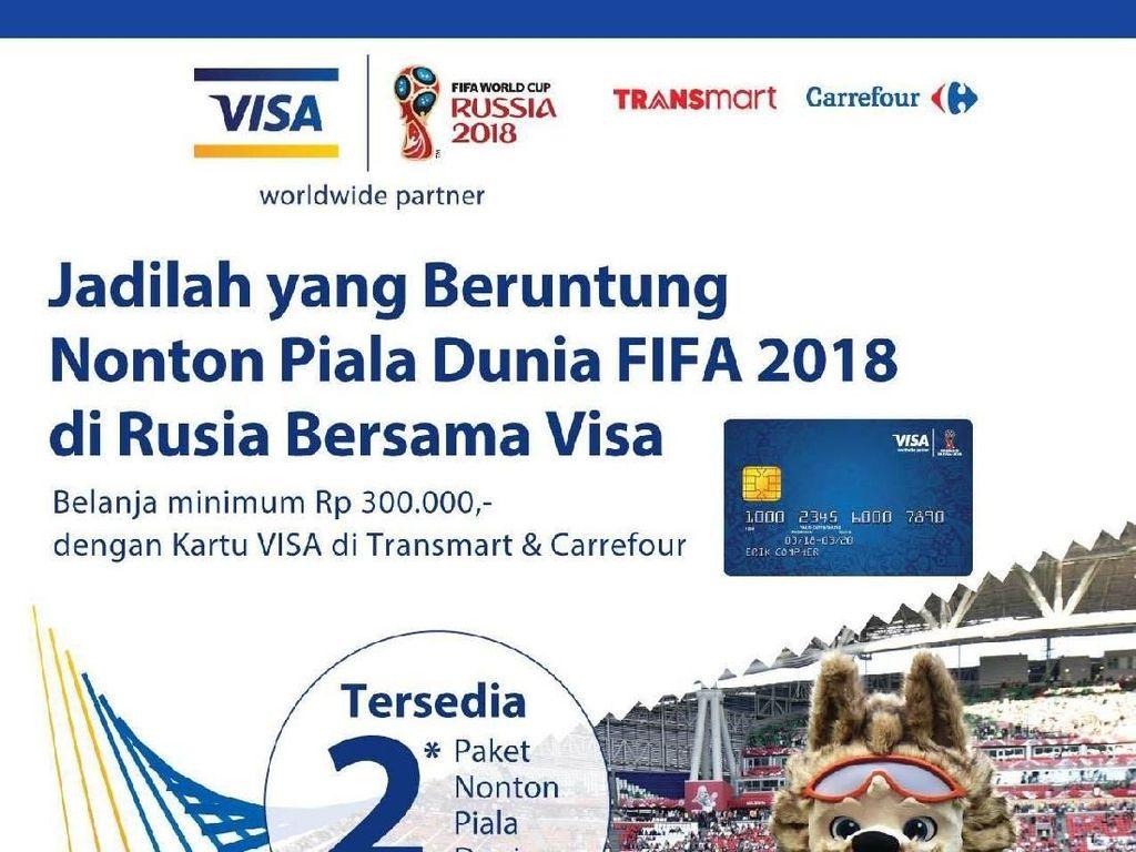 Fans Bola Pantang Ketinggalan Kesempatan Terbang ke Rusia