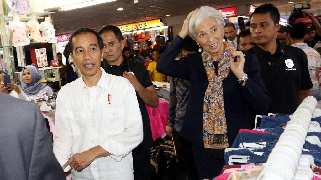 Foto: Penyambutan Bos IMF yang Dikritik Fadli Zon Bagai Raja