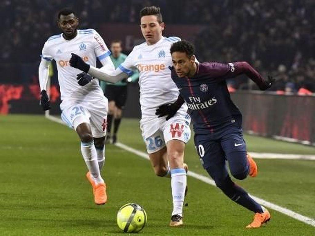 Pelatih Marseille Sindir Cedera Neymar