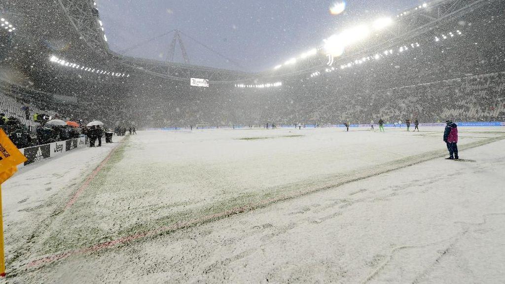 Cuaca Ekstrem, Juventus Stadium Membeku