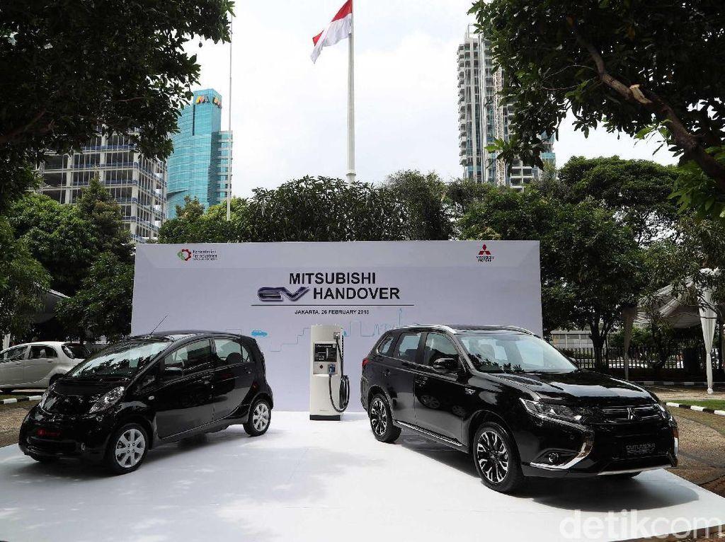 Pemerintah Pelajari Mobil Listrik Mitsubishi, Bisa Dibongkar Juga