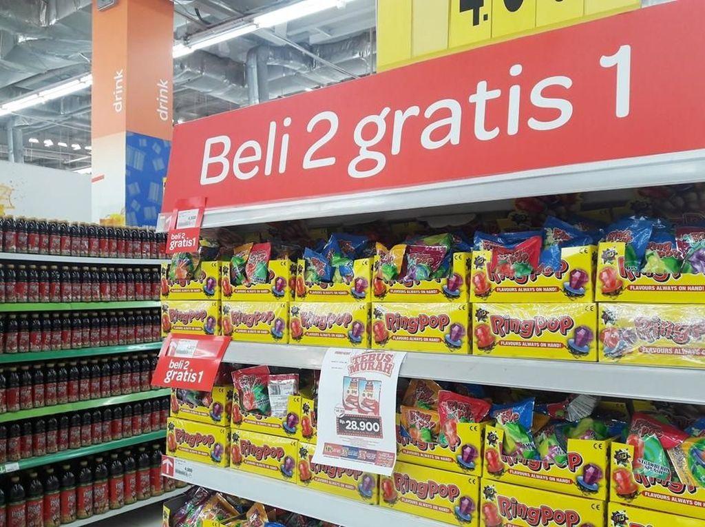 Aneka Promo Beli 2 Gratis 1 Makanan Ringan di Transmart Carrefour