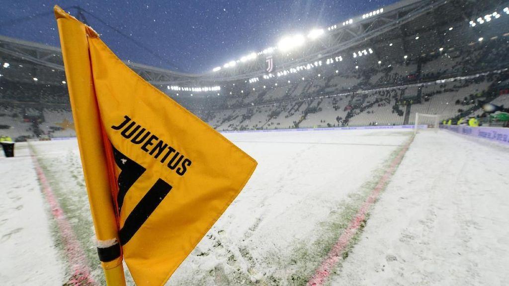 Lapangan Tertutup Salju, Laga Juventus vs Atalanta Ditunda