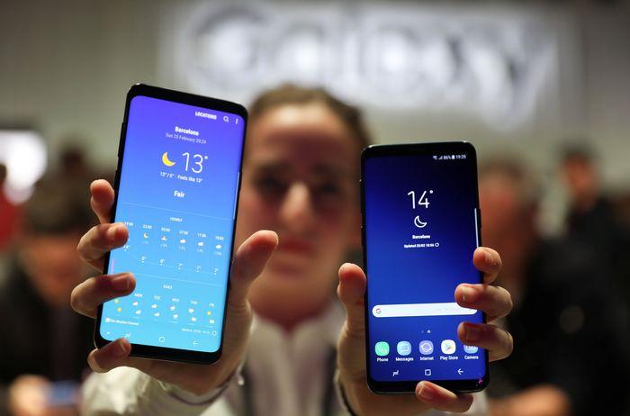 Galaxy S9 dan S9+. Foto: Reuters