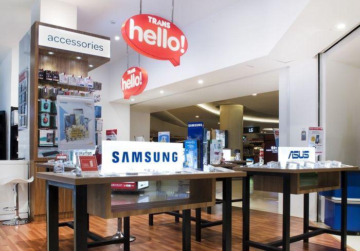 Foto: Transmart dan Carrefour menyediakan isi ulang pulsa dan paket data dari aneka macam provider