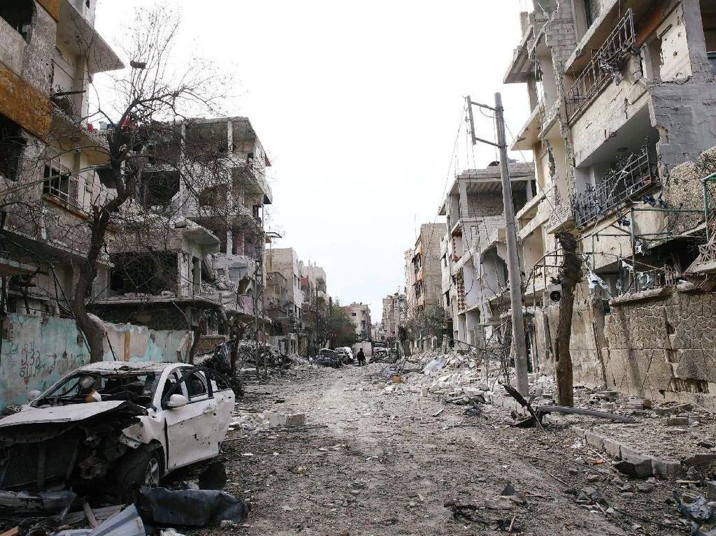 Pemberontak Suriah Sepakat Evakuasi Petempur dari Ghouta Timur