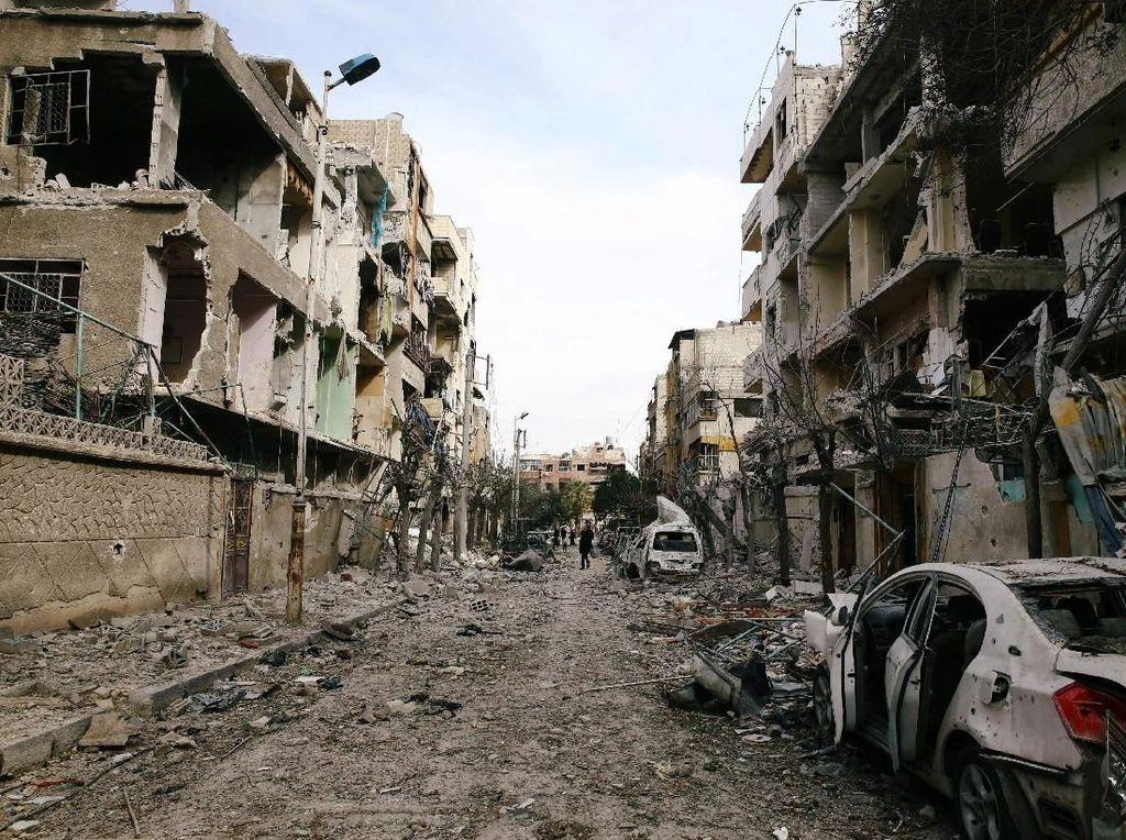 AS Sindir Koridor Kemanusiaan Rusia di Ghouta