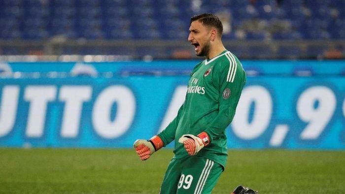 AC Milan memastikan Gianluigi Donnarumma tetap bertahan (Foto: Max Rossi/Reuters)
