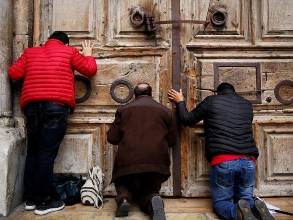Usai Ditutup untuk Protes ke Israel, Gereja Makam Kudus Buka Kembali