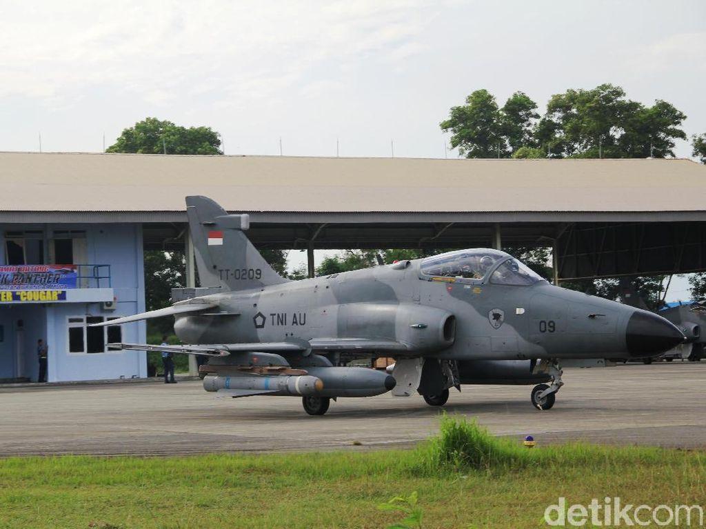Lokasi Pesawat TNI AU Jatuh 5 Km dari Lanud Rusmin Nuryadin Pekanbaru