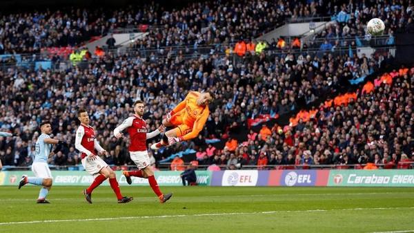 City Sementara Ungguli Arsenal 1-0