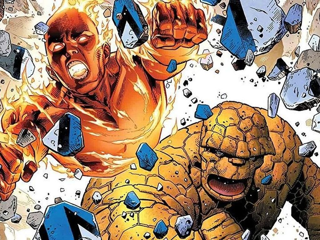 Marvel Comics Rayakan Kembalinya Komik The Fantastic Four