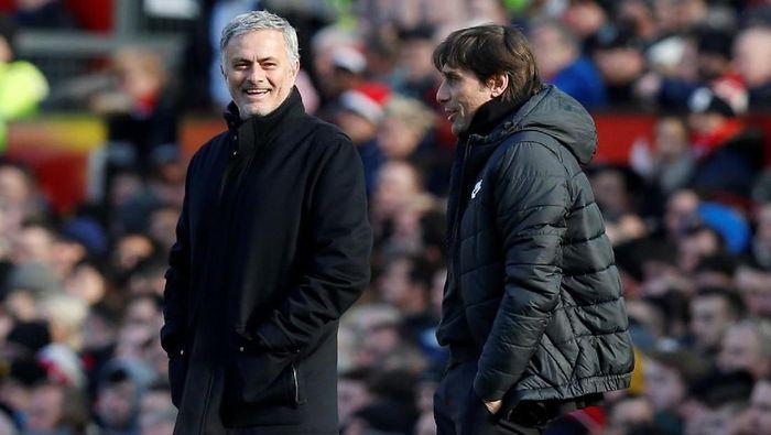 Antonio Conte tak mau dibandingkan dengan Jose Mourinho. (Foto: Andrew Yates/Reuters)