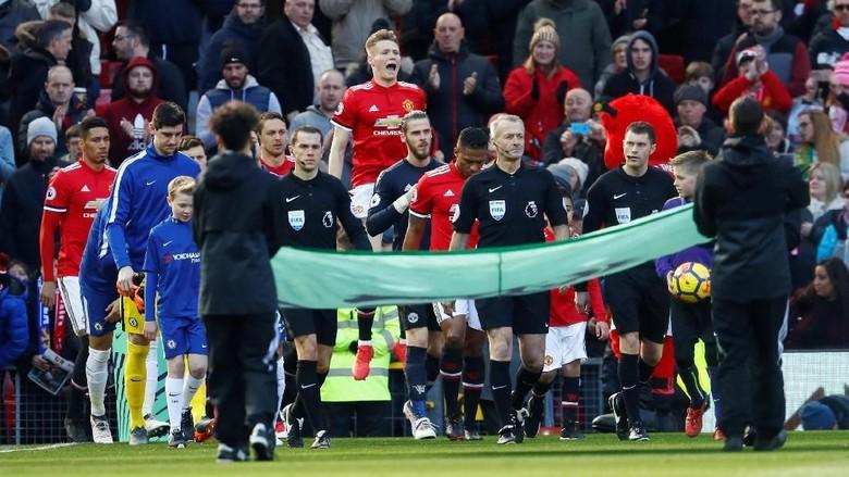 Foto: Gol dan Assist Lukaku Menangkan Setan Merah
