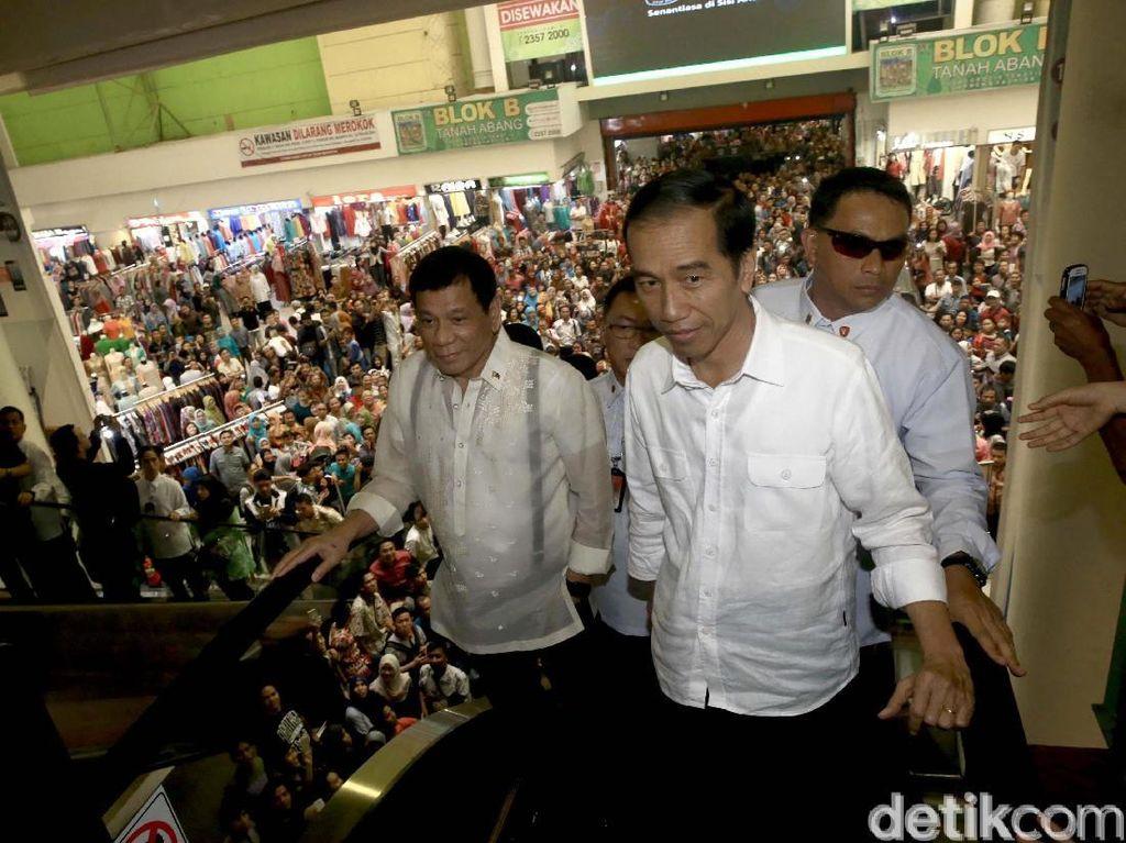 Jokowi Ikut Pantau Harga Bahan Pokok Jelang Lebaran