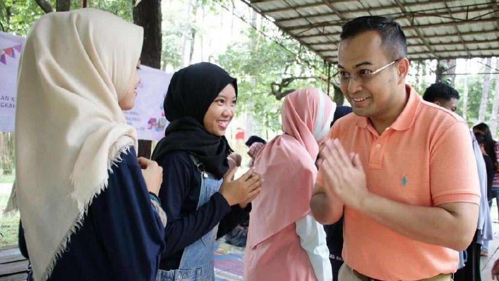 Cawagub Muhammad Irwansyah Temui Relawan Anak Sumsel