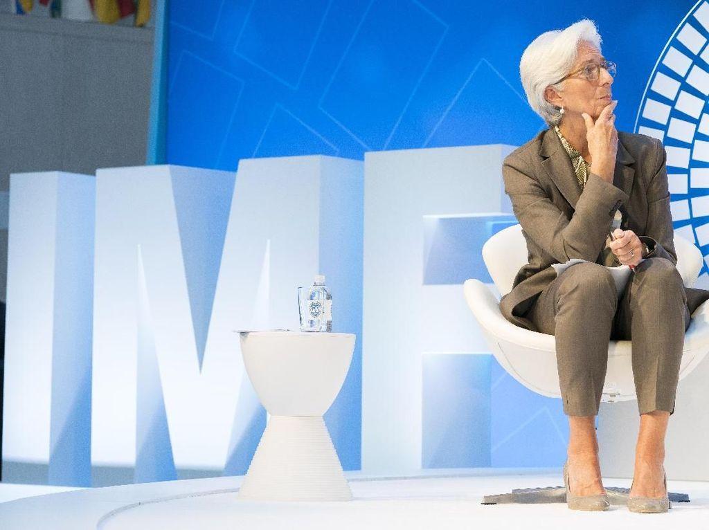 Foto: Gaya Smart-Chic Bos IMF yang Diajak Jokowi ke Pasar Tanah Abang