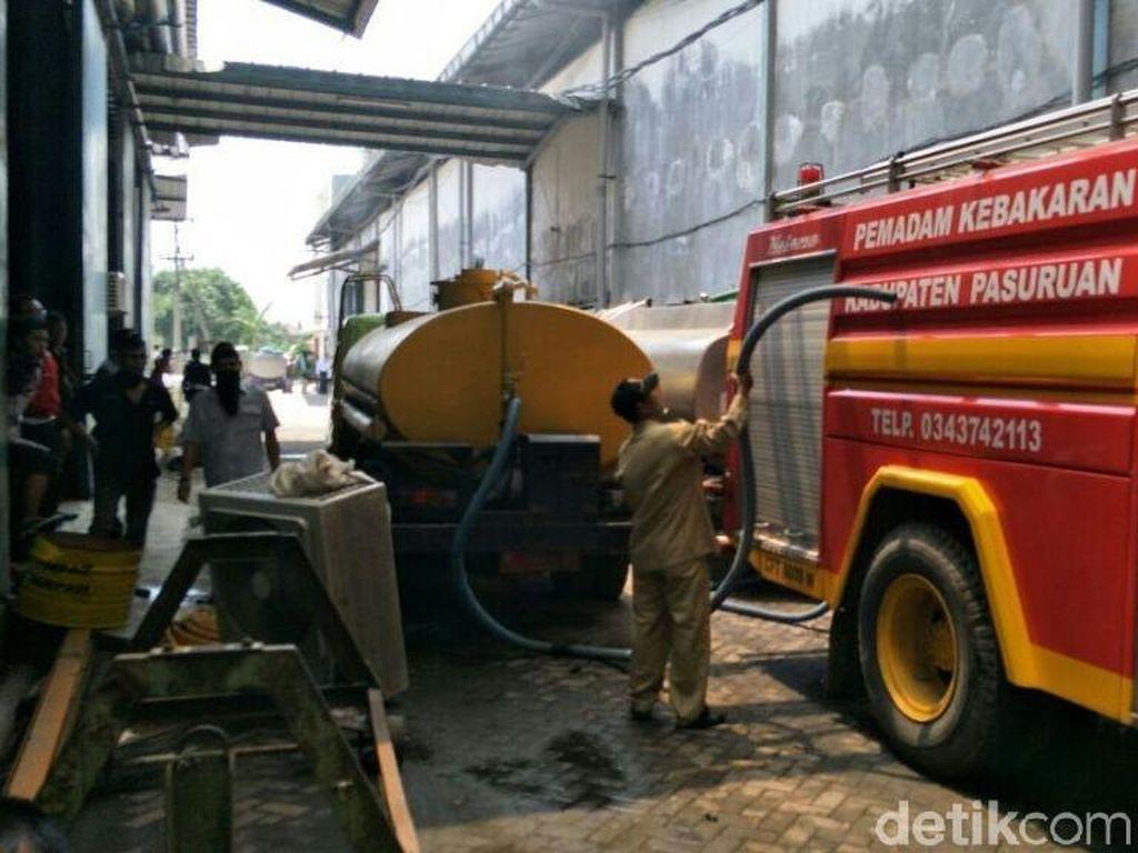 Satu Karyawan Diduga Jadi Korban Kebakaran Pabrik Tekstil di Pasuruan