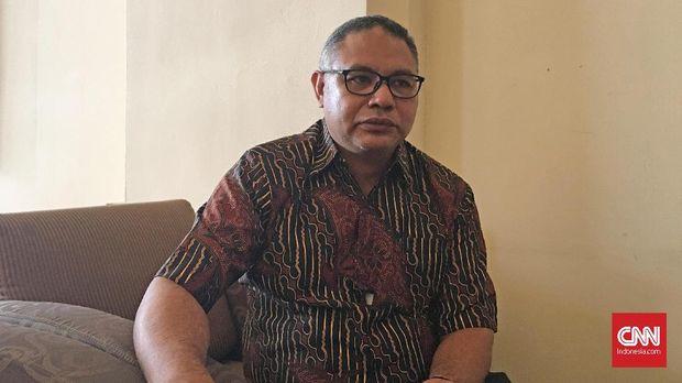 Komisioner KPI Hardly Stefano di Sari Pan Pasific, Jakarta (26/2)