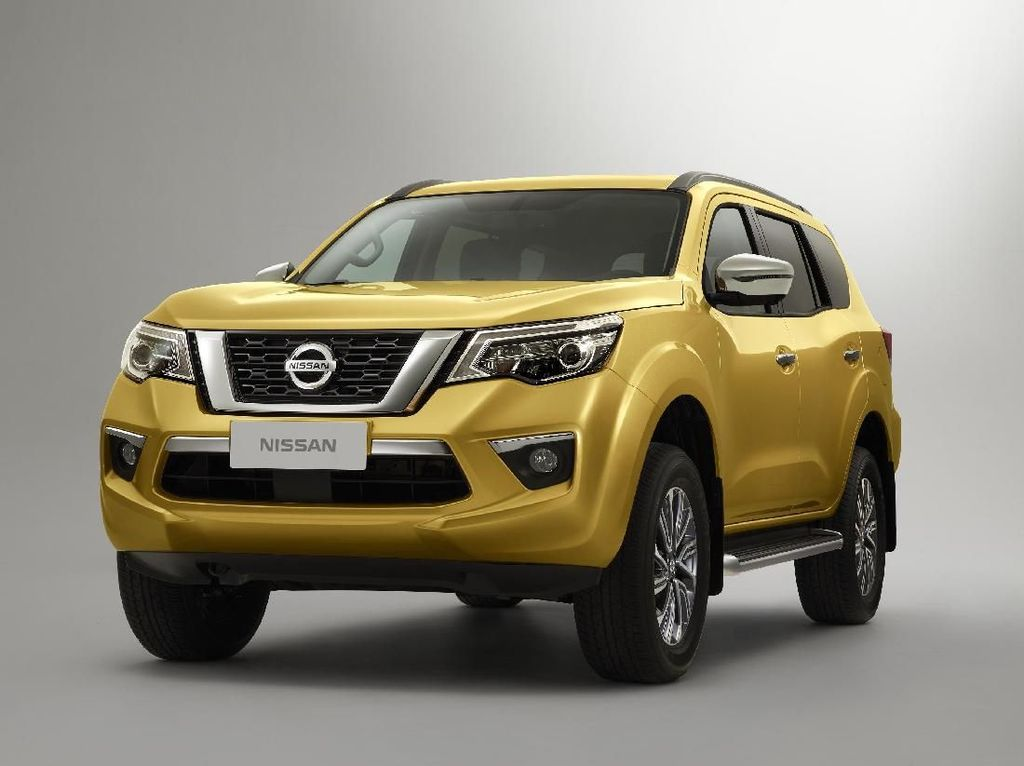 Ini Pesaing Fortuner dari Nissan, Namanya Terra