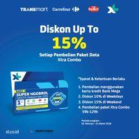 Diskon Paket Data XL di Transmart Carrefour