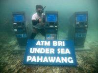 Tiga mesin ATM di laut Pahawang (dok MURI)