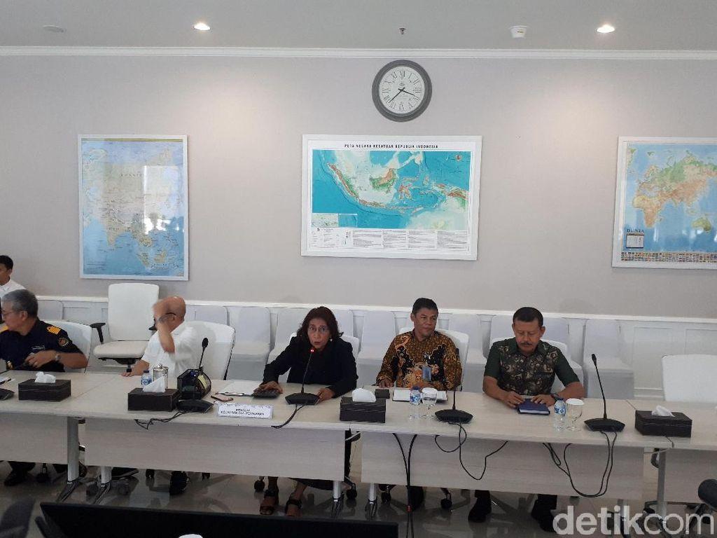Susi akan Tenggelamkan 4 Kapal Asing yang Ditangkap Bawa Narkoba