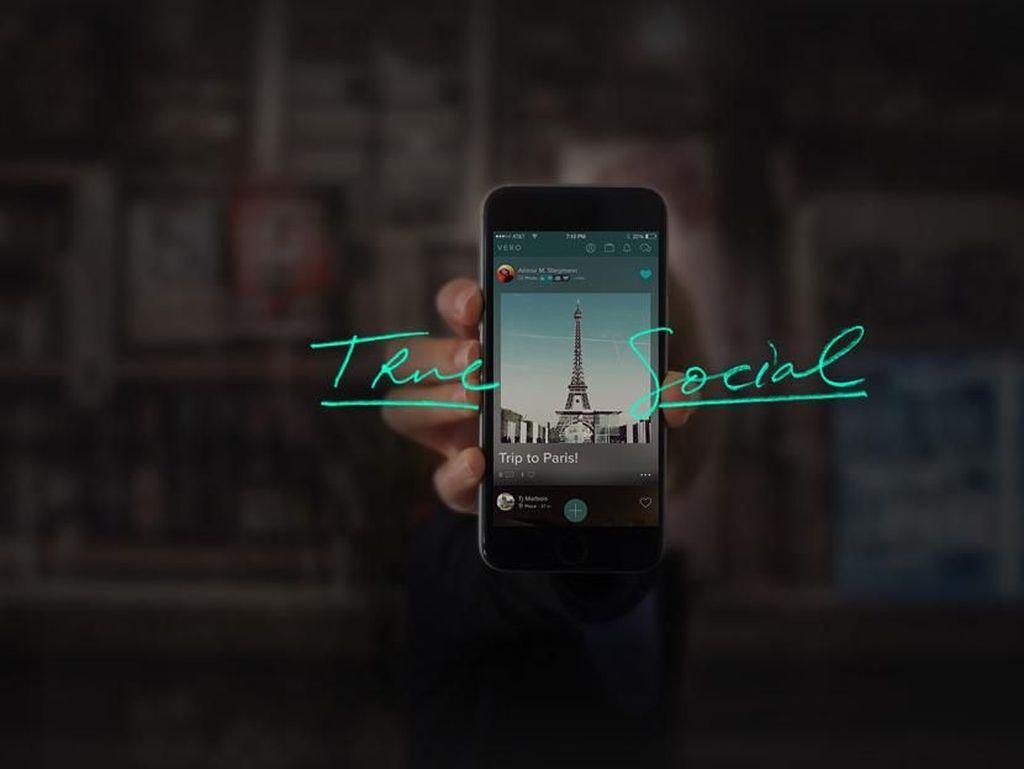 Vero, Aplikasi Anyar Penantang Facebook dan Instagram