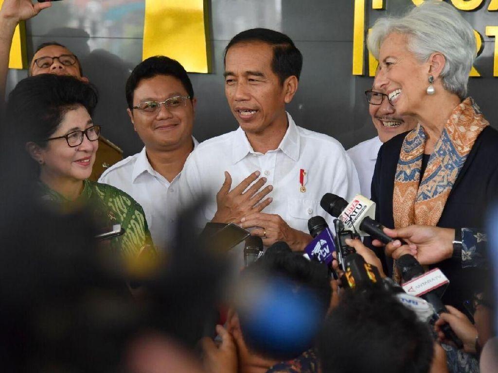 Jokowi: Bos IMF Terheran-heran pada Layanan Kesehatan RI