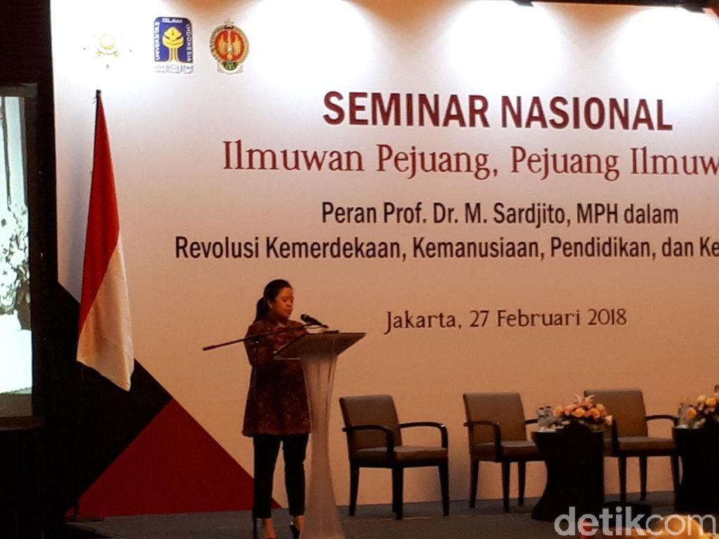 Cerita Menko PMK soal Karya Prof Sardjito dan Perbaikan Gizi di Asmat