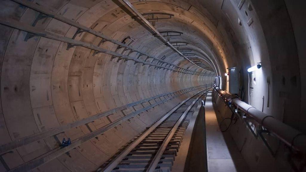 Keren! Potret Terkini Terowongan dan Stasiun Bawah Tanah MRT Jakarta