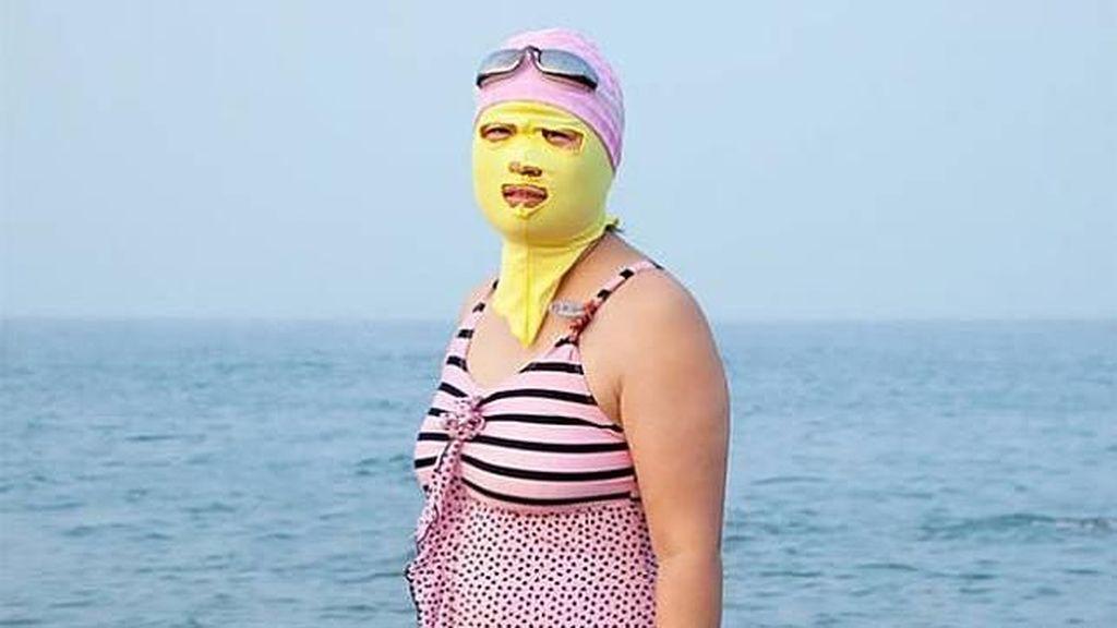 Foto: Bikini Antigosong ala Orang di China, Berani Coba?