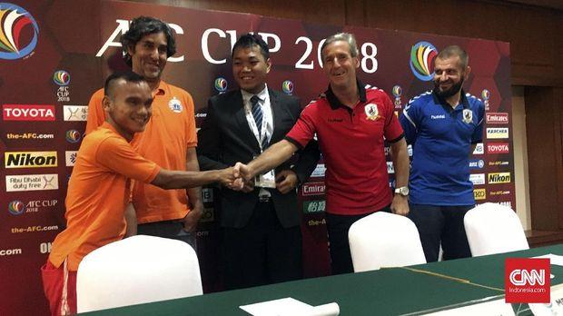 Pelatih Tampines Rovers Juergen Raab menyebut winger Persija seperti Speedy Gonzales.