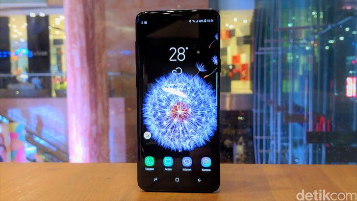 Galaxy S9. Foto: Adi Fida Rahman/Gobekasi