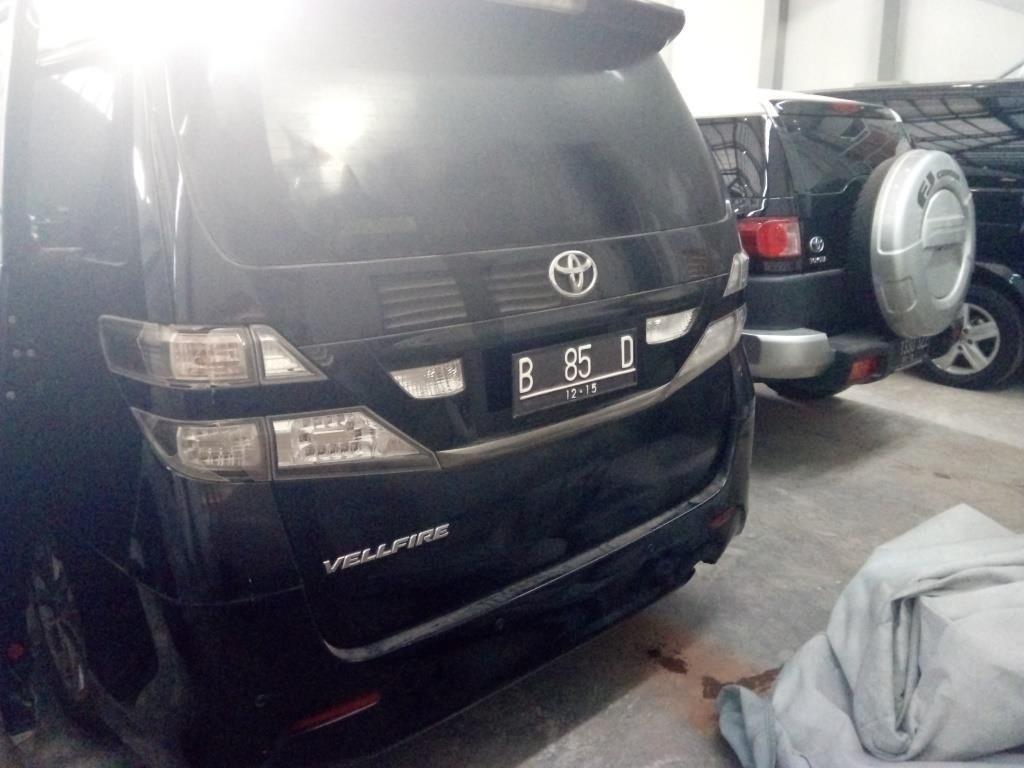 KPK Lelang Toyota Vellfire Bekas Nazaruddin Rp 157 jutaan