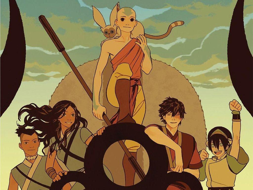 Novel Grafis Avatar Terbit untuk Pembaca Lebih Muda