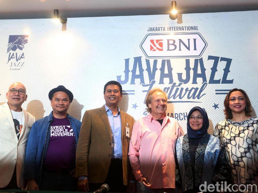 Elek Yo Band Grup Musik Menteri Jokowi-JK akan Tampil di BNI Java Jazz 2018