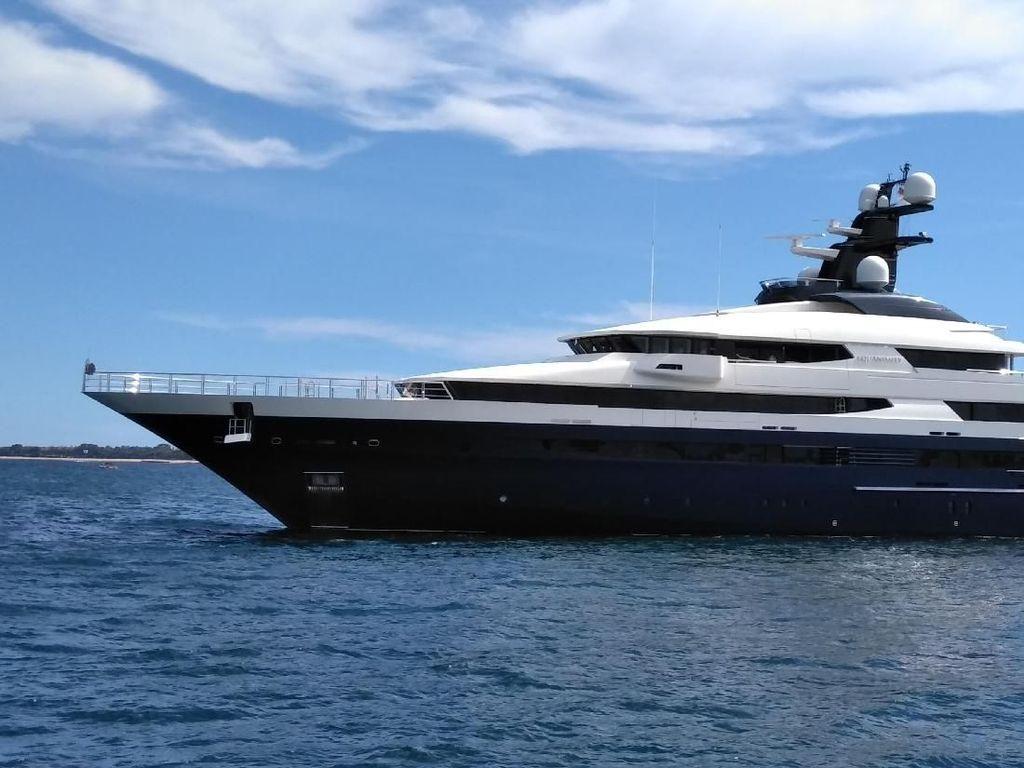 Amerika Serikat Turun Tangan Sita Yacht Rp 3,5 T