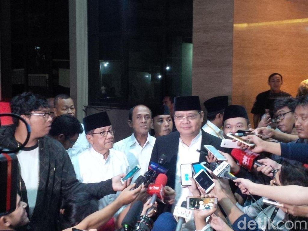 Airlangga akan Tanya Kesediaan JK Dampingi Jokowi di 2019
