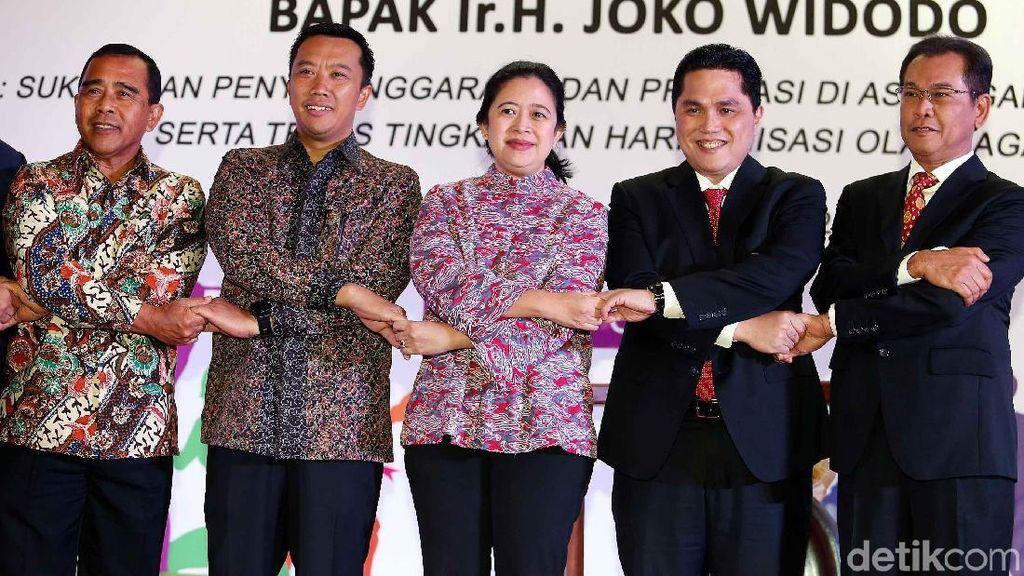 Menko PMK Buka Rapat Anggota Tahunan Komite Olimpiade Indonesia