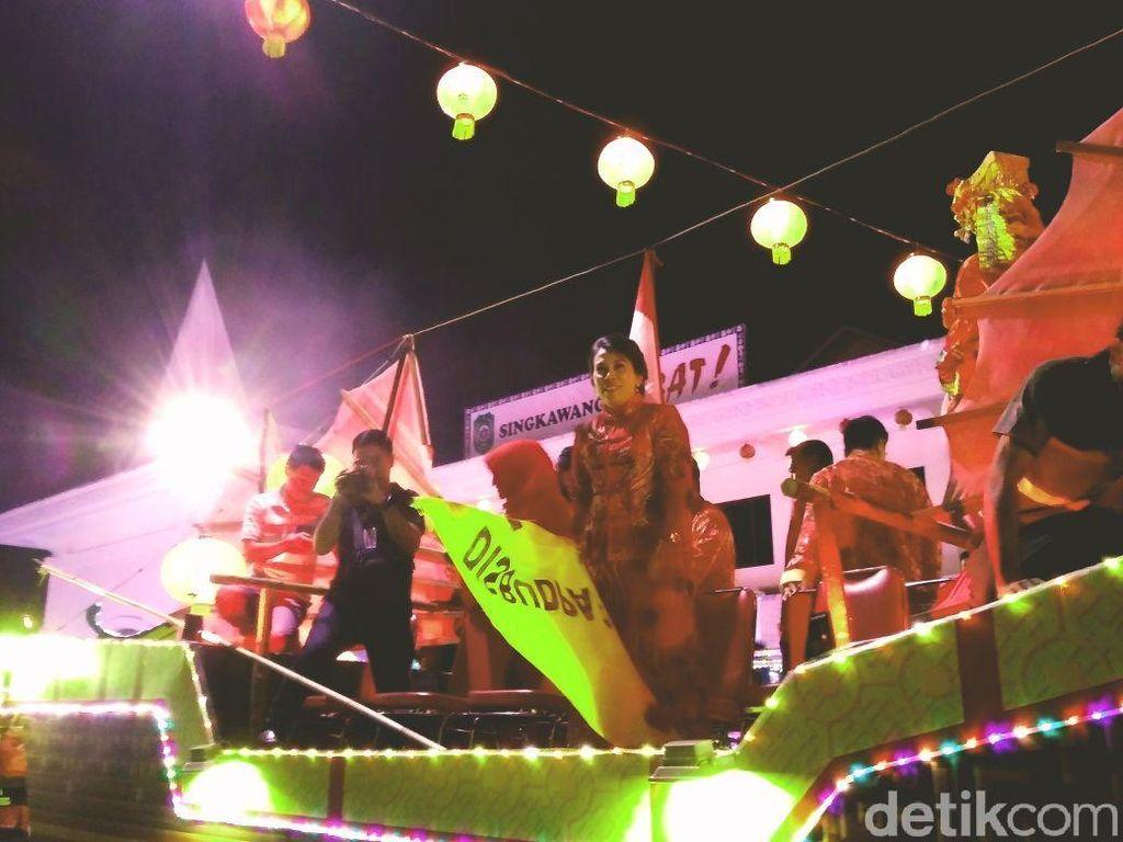 Sah! Festival Lampion Singkawang Resmi Dimulai