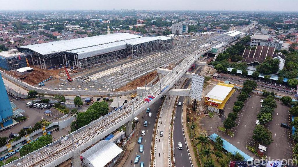 Foto: Mantap! MRT Jakarta Sudah Hampir Rampung
