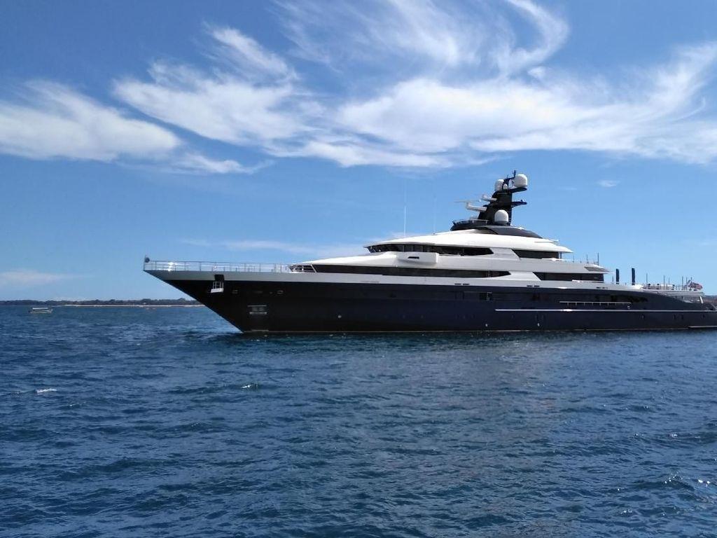 Melihat Lagi Yacht Rp 3,5 T Hasil Sitaan yang Bakal Dikembalikan