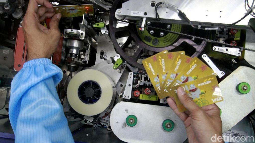 Melihat Pembuatan Kartu Mandiri Asian Games