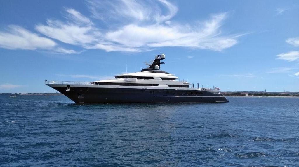 Foto: Equanimity, Yacht Mewah Buruan FBI yang Disita di Bali