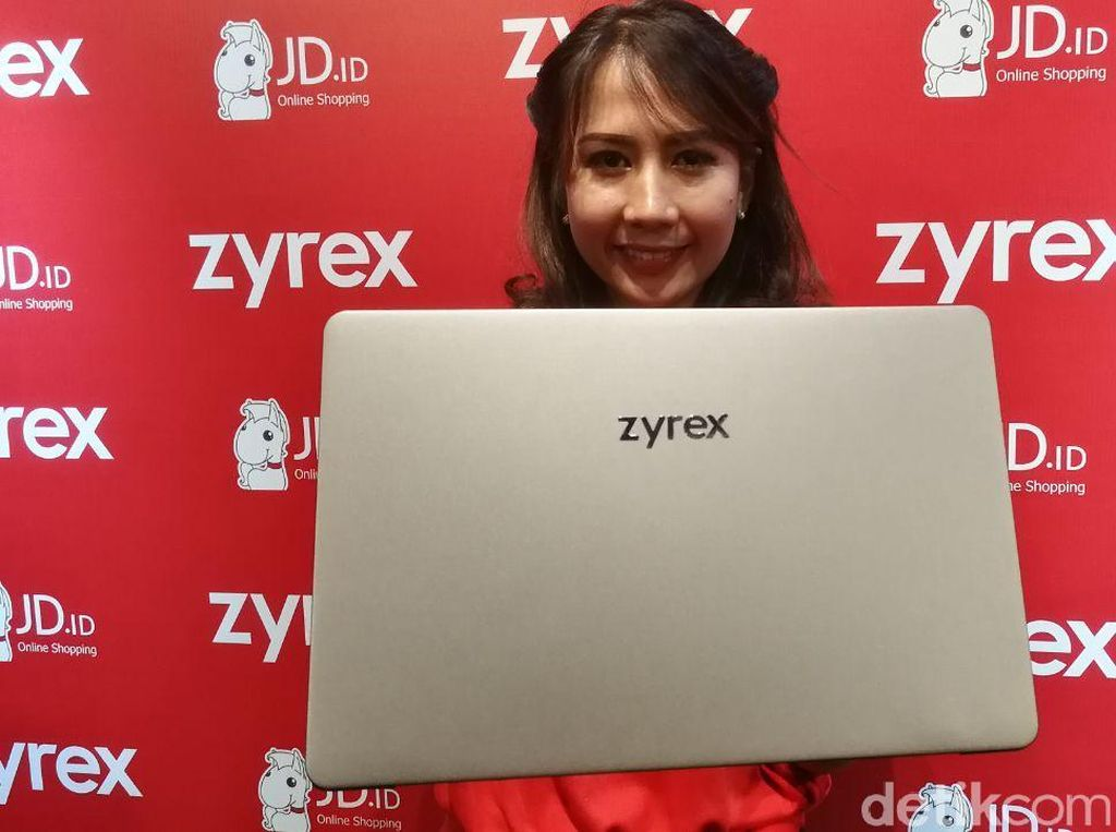 Wujud Laptop Anyar Zyrex Rp 3 Jutaan