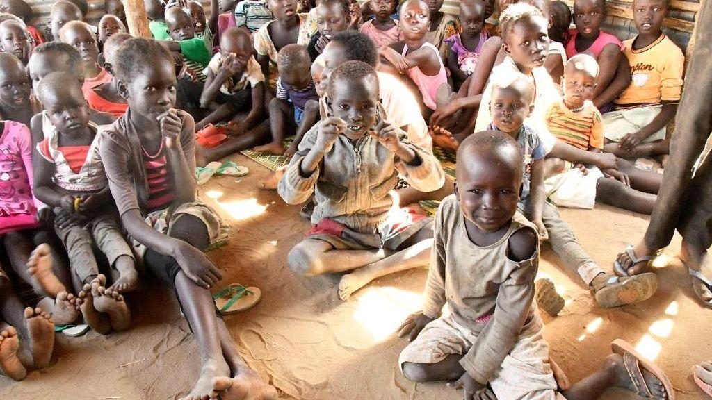 Foto: Begini Keadaan Anak-anak Sudan Selatan di Pengungsian
