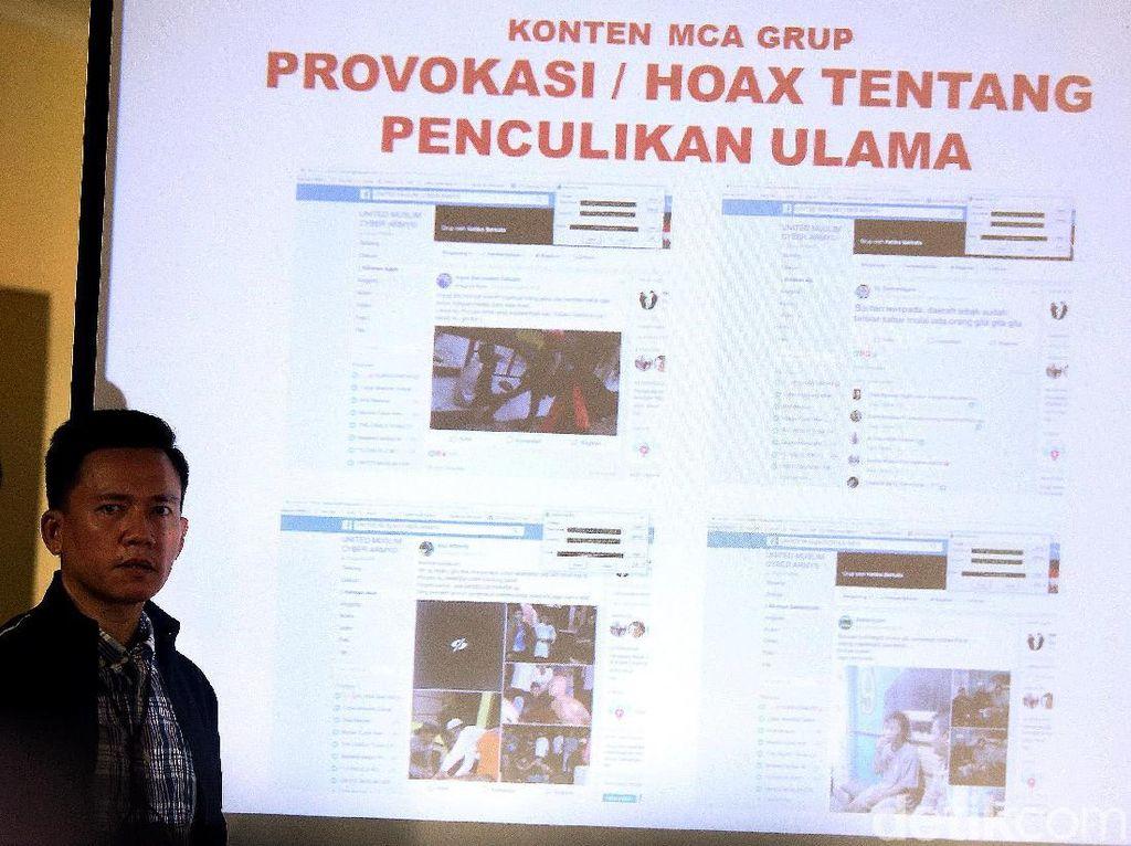Penyebar Hoax Dicokok Polisi: Saracen Hingga Muslim Cyber Army
