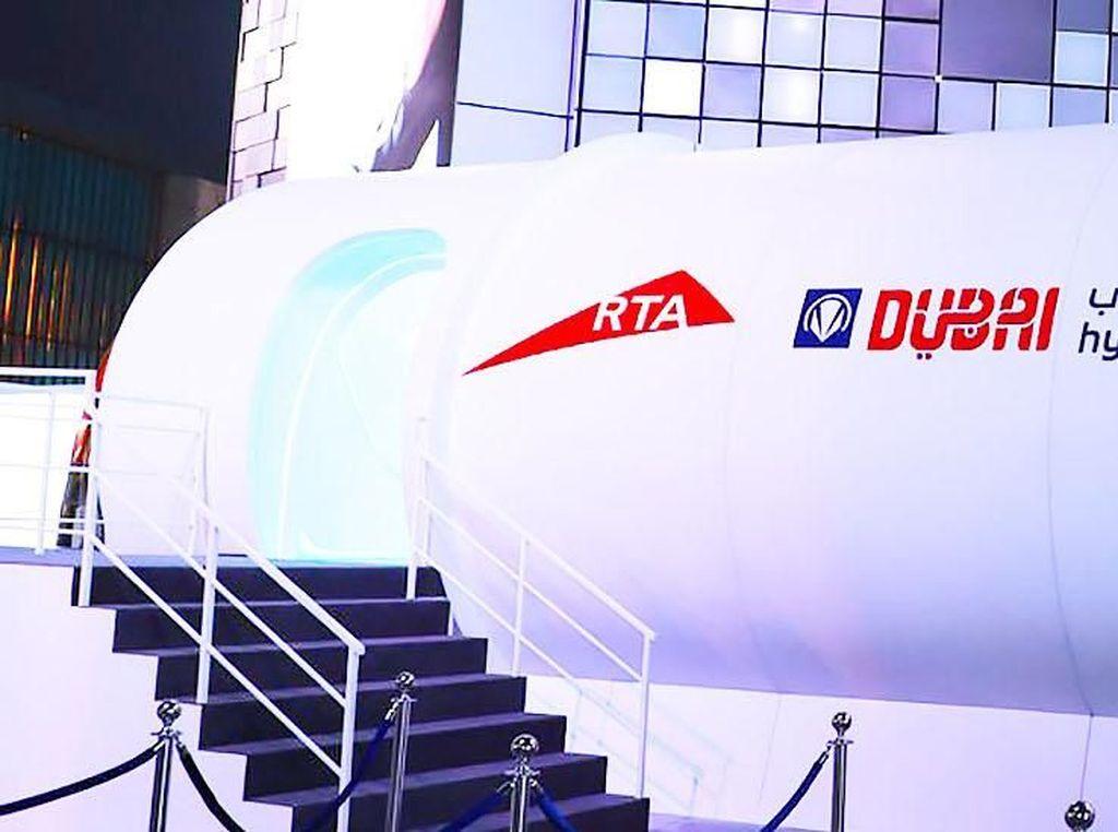 Ini Hyperloop yang Bisa Melesat dari Dubai ke Abu Dhabi 12 Menit