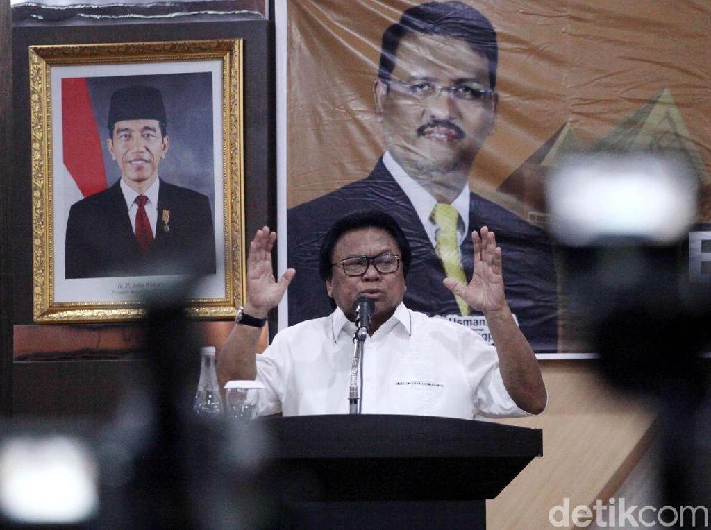 Soal Serangan Balik Jokowi, OSO: Salahnya di Mana?